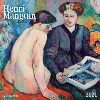Calendário 2021 Henri Manguin