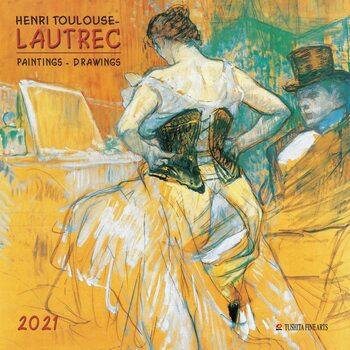 Calendário 2021 Henri Toulouse-Lautrec