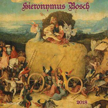 Calendário 2018  Hieronymus Bosch