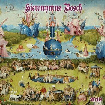 Calendário 2019  Hieronymus Bosch
