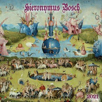 Calendário 2021 Hieronymus Bosch