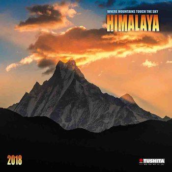 Calendário 2018 Himalaya