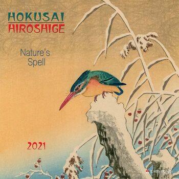 Calendário 2021 Hokusai/Hiroshige - Nature