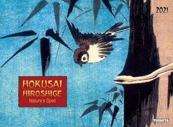 Calendário 2021 Hokusai / Hiroshige - Nature's Spell