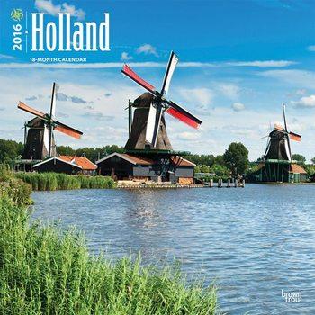 Calendário 2018  Holland