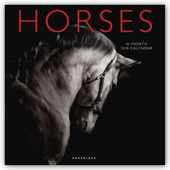 Calendário 2018 Horses