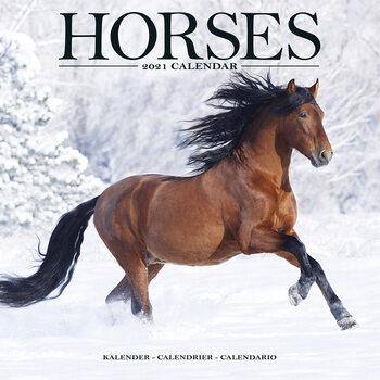 Calendário 2021 Horses