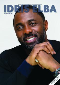Calendário 2017 Idris Elba