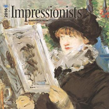 Calendário 2018  Impressionists