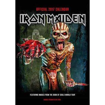 Calendário 2017 Iron Maiden