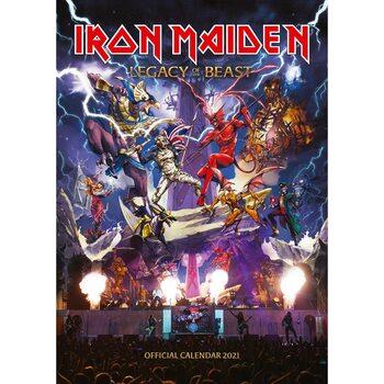 Calendário 2021 Iron Maiden