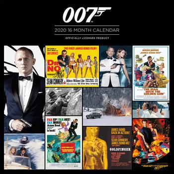 Calendário 2020  James Bond