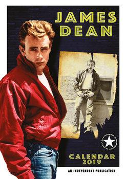 Calendário 2019  James Dean