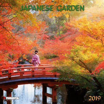 Calendário 2019  Japanese Garden