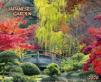 Calendário 2020  Japanese Garden