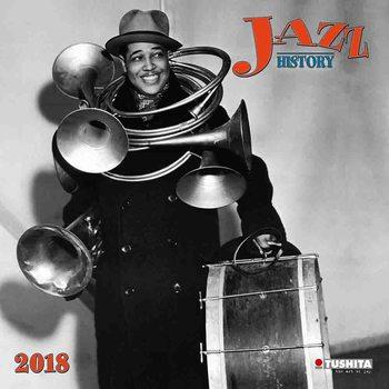 Calendário 2018 Jazz History