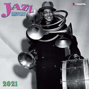 Calendário 2021 Jazz History