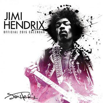 Calendário 2018 Jimi Hendrix