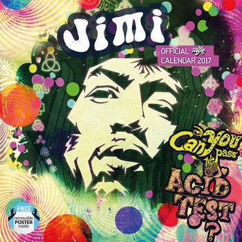 Calendário 2017 Jimi Hendrix