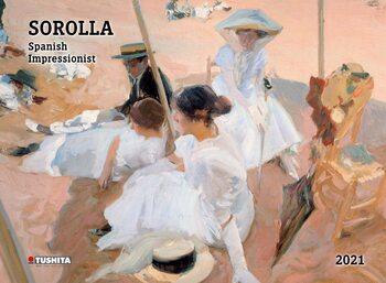 Calendário 2021 Joaquín Sorolla - Spanisch Impressionist