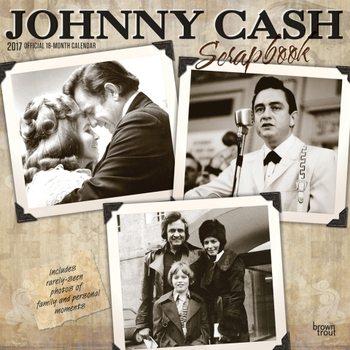 Calendário 2017 Johnny Cash