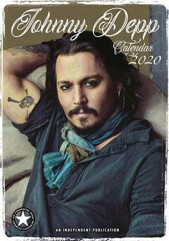 Calendário 2020  Johnny Depp