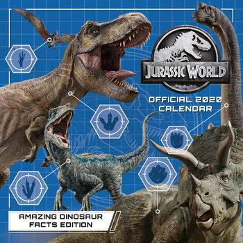 Calendário 2020  Jurassic World