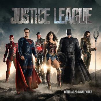 Calendário 2018 Justice League