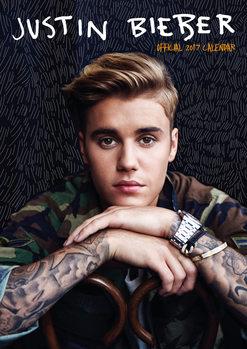 Calendário 2017 Justin Bieber