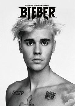 Calendário 2018 Justin Bieber