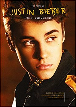 Calendário 2019  Justin Bieber