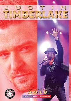 Calendário 2019  Justin Timberlake