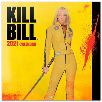 Calendário 2021 Kill Bill