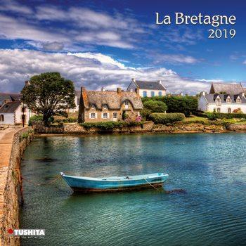 Calendário 2019  La Bretagne