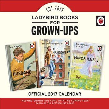 Calendário 2018 Ladybird Books For Grown-Ups