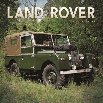 Calendário 2017 Land Rover