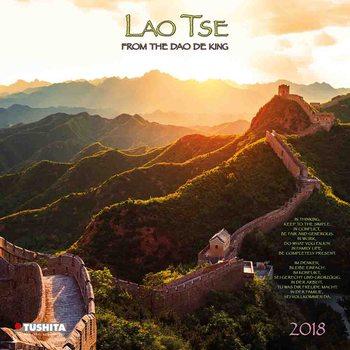 Calendário 2018 Lao Tse