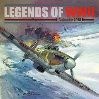 Calendário 2019  Legends of WWII
