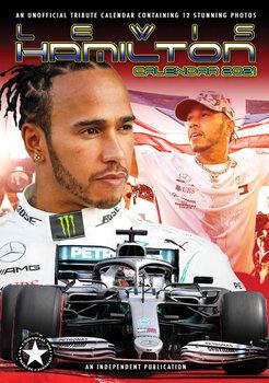 Calendário 2021 Lewis Hamilton