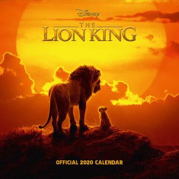 Calendário 2020  Lion King