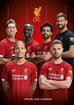 Calendário 2020  Liverpool FC