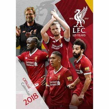Calendário 2018 Liverpool