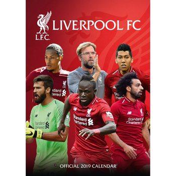 Calendário 2019  Liverpool