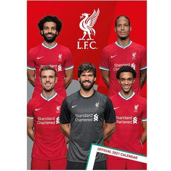 Calendário 2021 Liverpool