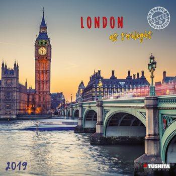 Calendário 2019  London at Twilight