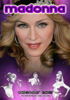 Calendário 2018 Madonna