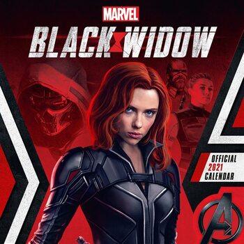 Calendário 2021 Marvel - Black Widow
