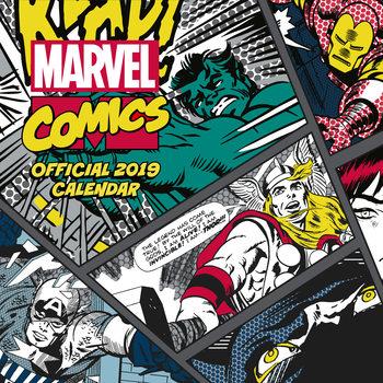 Calendário 2019  Marvel Comics