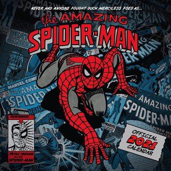 Calendário 2021 Marvel - The Amazing Spiderman