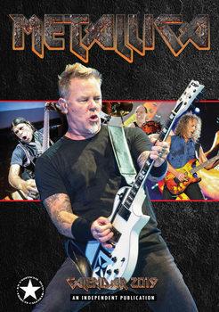 Calendário 2019  Metallica